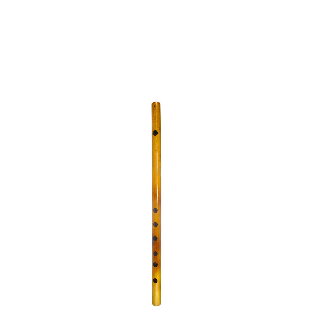 """17"""" Inches Long Handcrafted Bamboo Wooden Flute Indian Bansuri Key Note 'G'  Side Mouth - Image 2"""