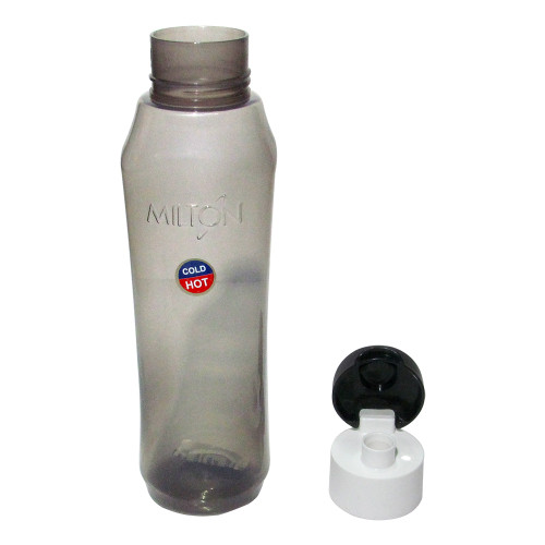 Milton Pyramid Flip Hot And Cold, 1000 ML Bpa Free Pet Water Bottle - Image 2