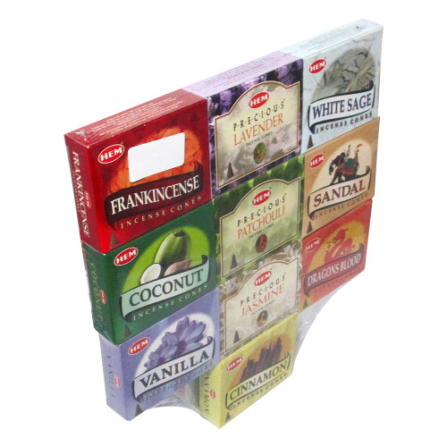 Hem 10 Assorted Boxes of Incense Cones, Best Sellers Set #5 (120 Cones total) - Image 2