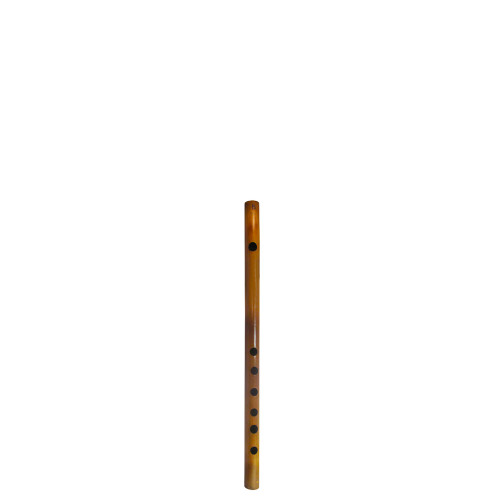 """15"""" Inches Long Handcrafted Bamboo Wooden Flute Indian Bansuri Key Note 'B' Side Mouth - Image 2"""