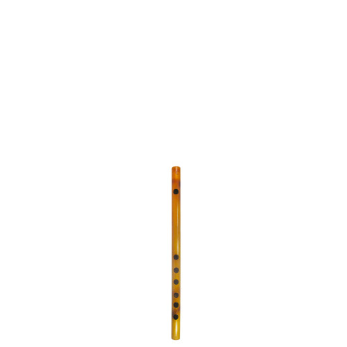 """13"""" Inches Long Handcrafted Bamboo Wooden Flute Indian Bansuri Key Note 'C' Side Mouth - Image 2"""