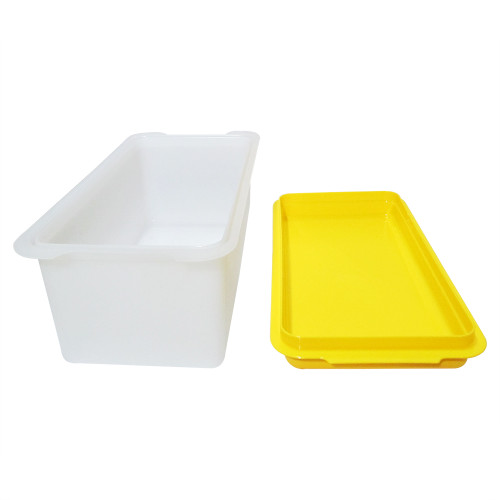 Tupperware Serving Bread Server, 2.5 Litre Clear Yellow - Image 2