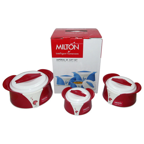 Milton Imperial Jr Set Exclusive Designed, Food Warmer, Insulated Casserole - Image 2