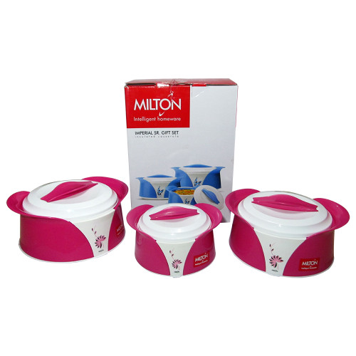 Milton Imperial Sr Set Exclusive Designed, Food Warmer, Insulated Casserole - Image 2