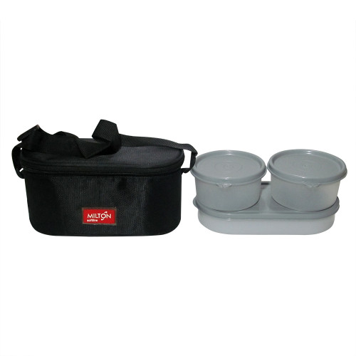 Milton Soft Line Trendy Meal, 2 Round & 1 Oval Container Insulated Lunch Box - Image 2