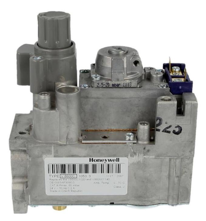 Honeywell V8600C1053 Gas combination valve