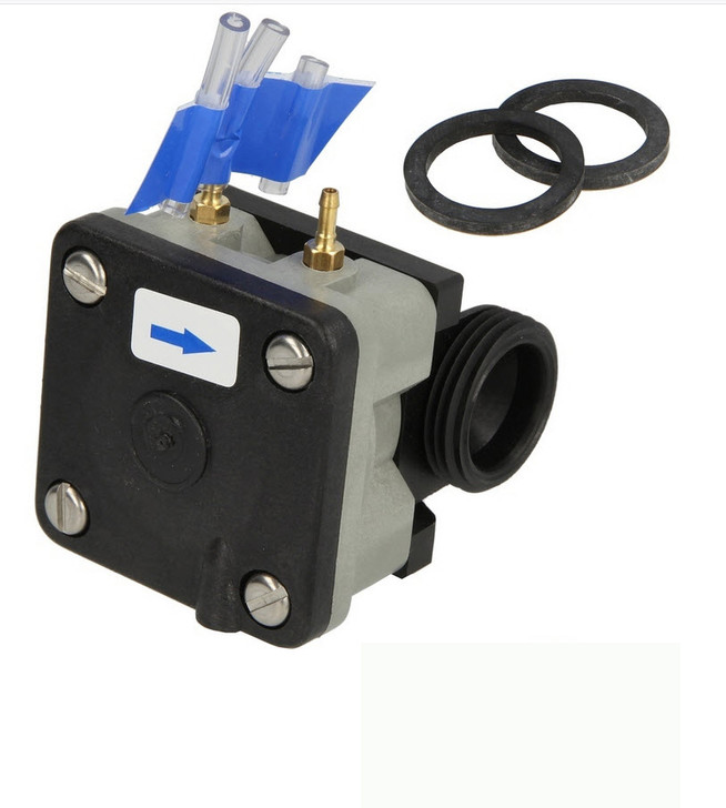 Geberit pneumatic valve for HP and FP urinal flush control, 240.870.00.1