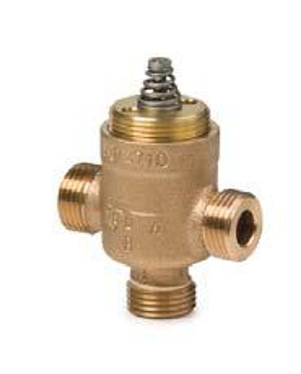 Siemens VXP47.10-1.6 , 3-port seat valve, external thread, PN16, DN10, kvs 1.6