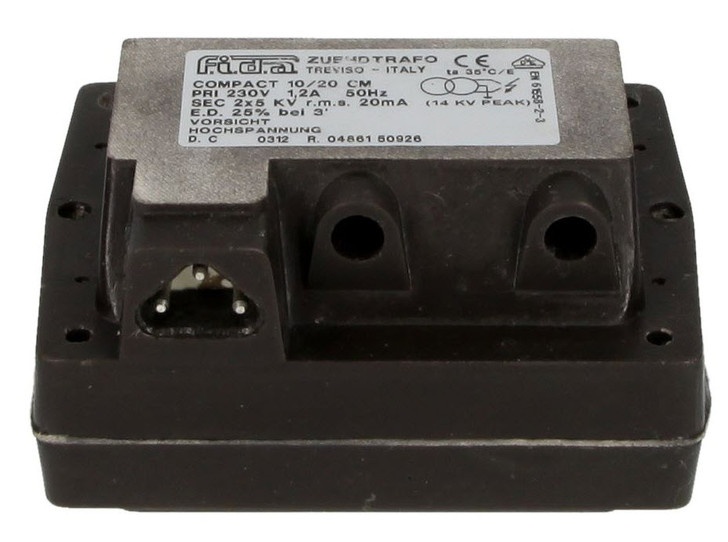 FIDA 10/20 CM, 25% ignition transformer