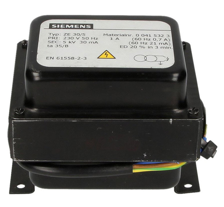 Elco Ignition transformer ZE 30/5 with cable 333326175