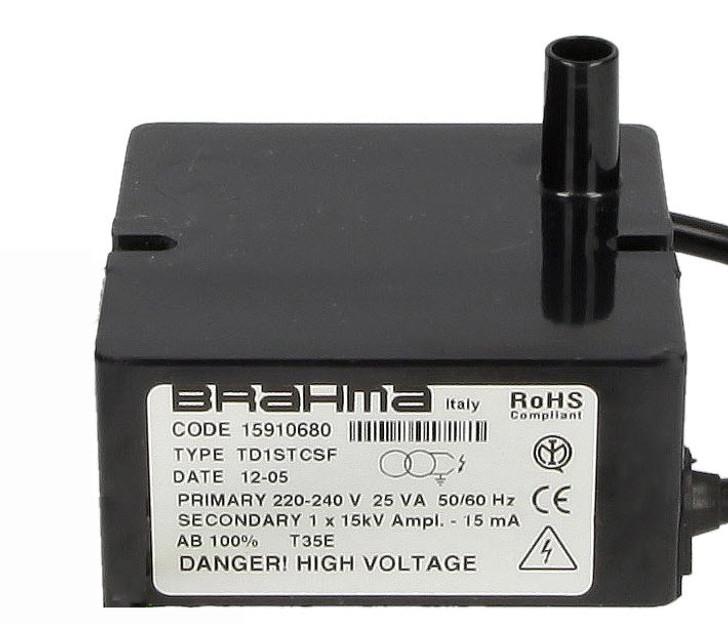 Ignition transformer Brahma TD1STCSF 15910680
