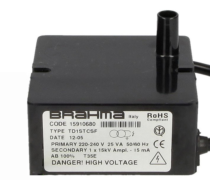 Ignition transformer Brahma TD1STCSF 15910680