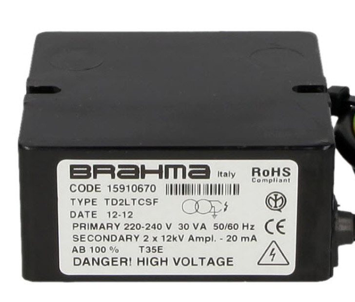 Ignition transformer Brahma TD2LTCSF 15910670