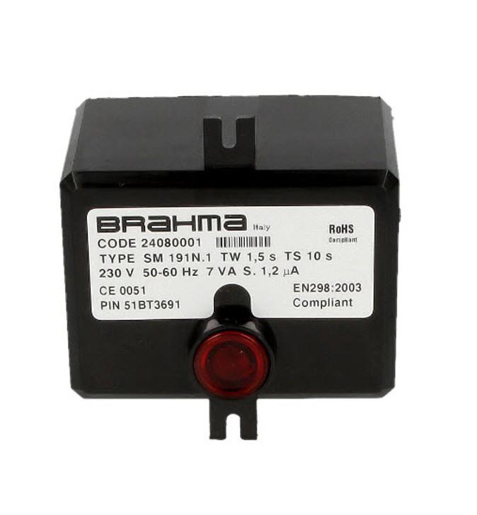 Brahma SM191.1 24080001, Gas burner control unit