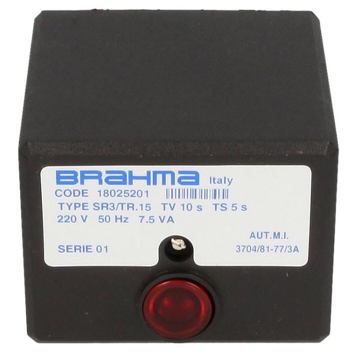Brahma SR3/TR.15, 18025201 Gas burner control unit