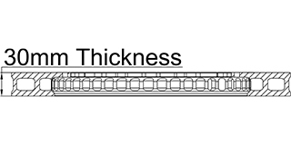 30mm Thickness
