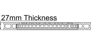27mm Thickness