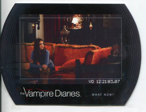 Vampire Diaries Season 2 Behind The Scenes Chase Card  BTS7 The Descent