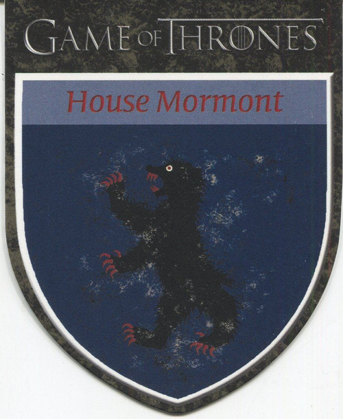 Game Of Thrones Complete Casetopper Chase Card H13 Mormont Sigil