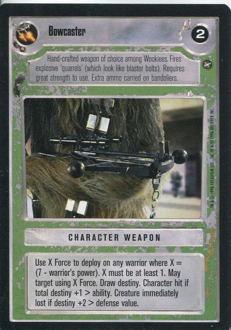 Star Wars CCG A New Hope Limited BB Bowcaster
