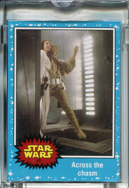 Star Wars Journey To The Force Awakens Topps 1/1 Vault Blank Back Base Card #35