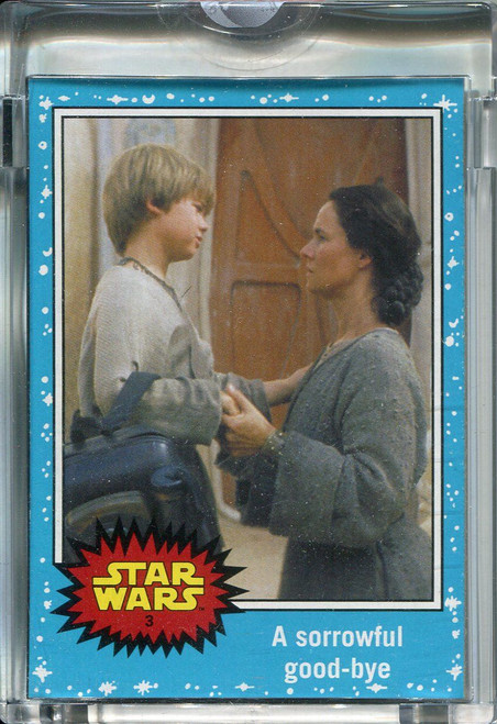 Star Wars Journey To The Force Awakens Topps 1/1 Vault Blank Back Base Card #3