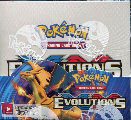 Pokemon Evolutions Factory Sealed Box - 36 Packs