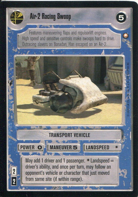 Star Wars CCG Special Edition Air-2 Racing Swoop