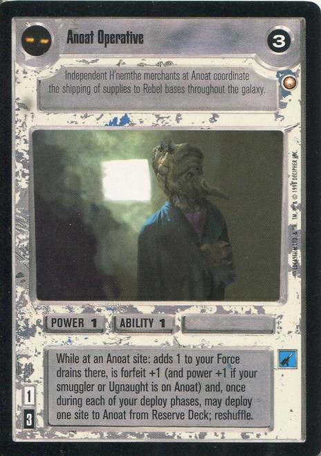 Star Wars CCG Special Edition Anoat Operative LS