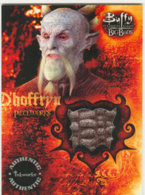 Buffy TVS Big Bads Pieceworks Card PW3 Dhoffryn