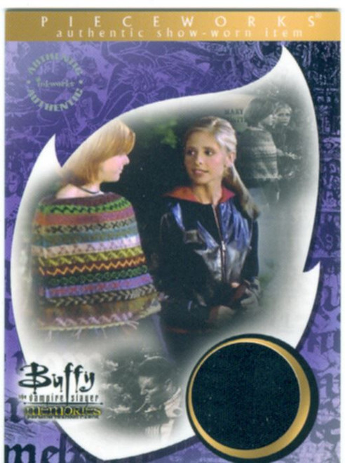 Buffy TVS Memories Pieceworks Card PW1 Buffy Summers