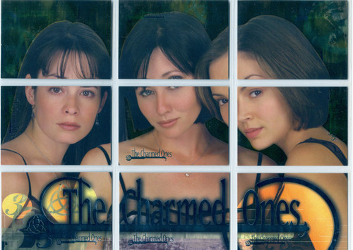 Charmed Season 1 Complete The Charmed Ones Chase Card Set P1-9