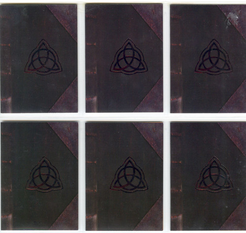 Charmed Season 1 Complete The Book Of Shadows Chase Card Set B1-6