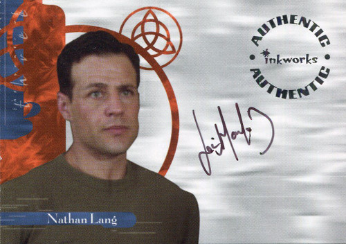 Charmed Power Of The Three Autograph Card A18 Louis Mandylor