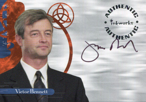 Charmed Power Of The Three Autograph Card A16 James Read