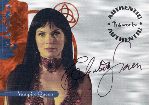 Charmed Power Of The Three Autograph Card A19 Elizabeth Gracen