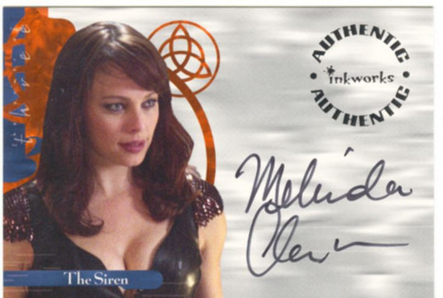Charmed Power Of The Three Autograph Card A14 Melinda Clarke