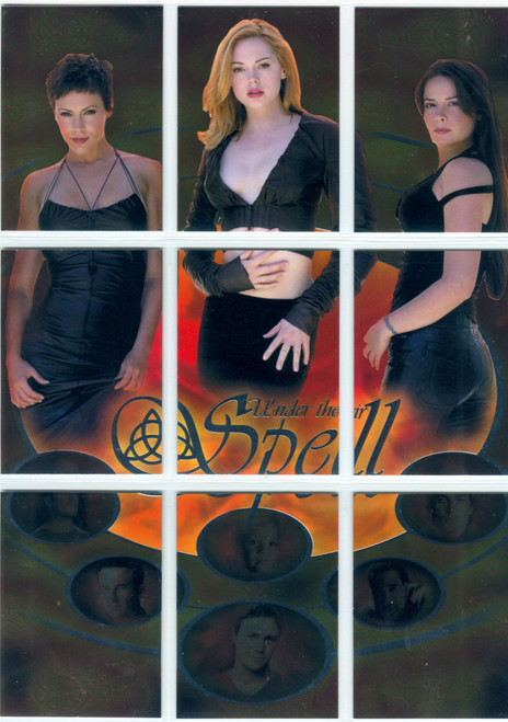 Charmed Connections Complete Under Their Spell Chase Card Set SP1-9