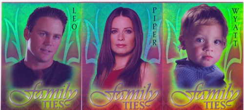 Charmed Connections Complete Family Ties Box Loader Chase Card Set BL1-3