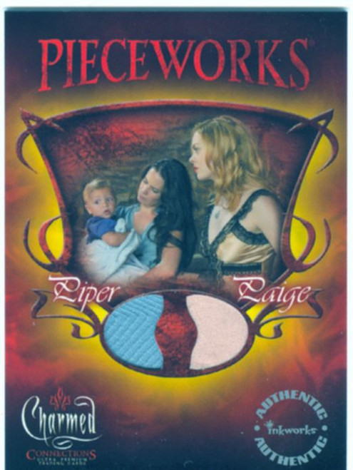 Charmed Connections Pieceworks Card PWC2 Piper & Paige