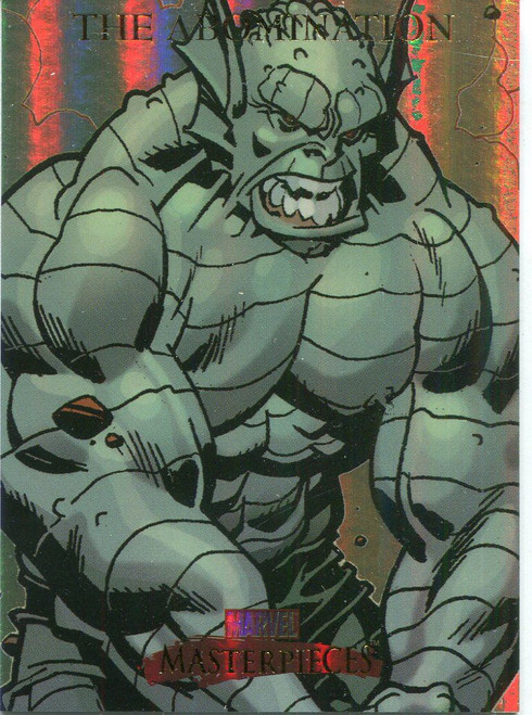 Marvel Masterpieces 2007 Fleer Foil Parallel Base Card #2 The Abomination