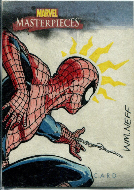 Marvel Masterpieces 2007 Sketch Card By William Neff