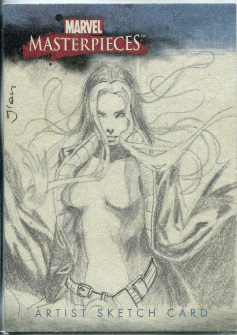Marvel Masterpieces 2007 Sketch Card By Gian Moreno