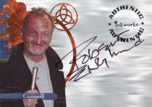 Charmed Power Of The Three Autograph Card A10 Robert Englund