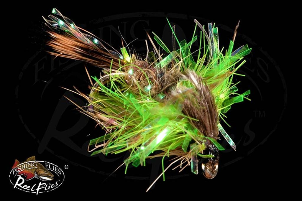 Crystal Hares Ear Chartreuse