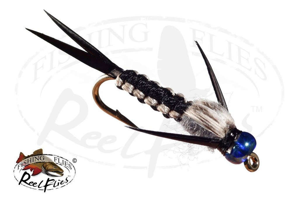 Rainbow Head Rh Black Woven Stonefly