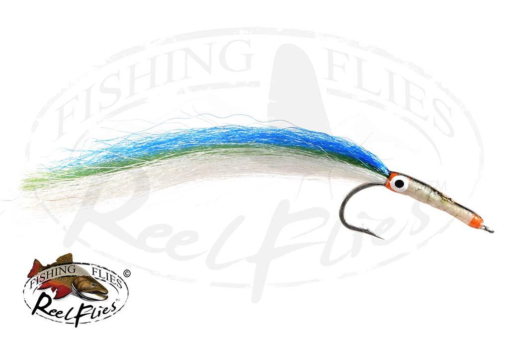 Needlefish Fly Aqua Green Saltwater Fly for Barracuda