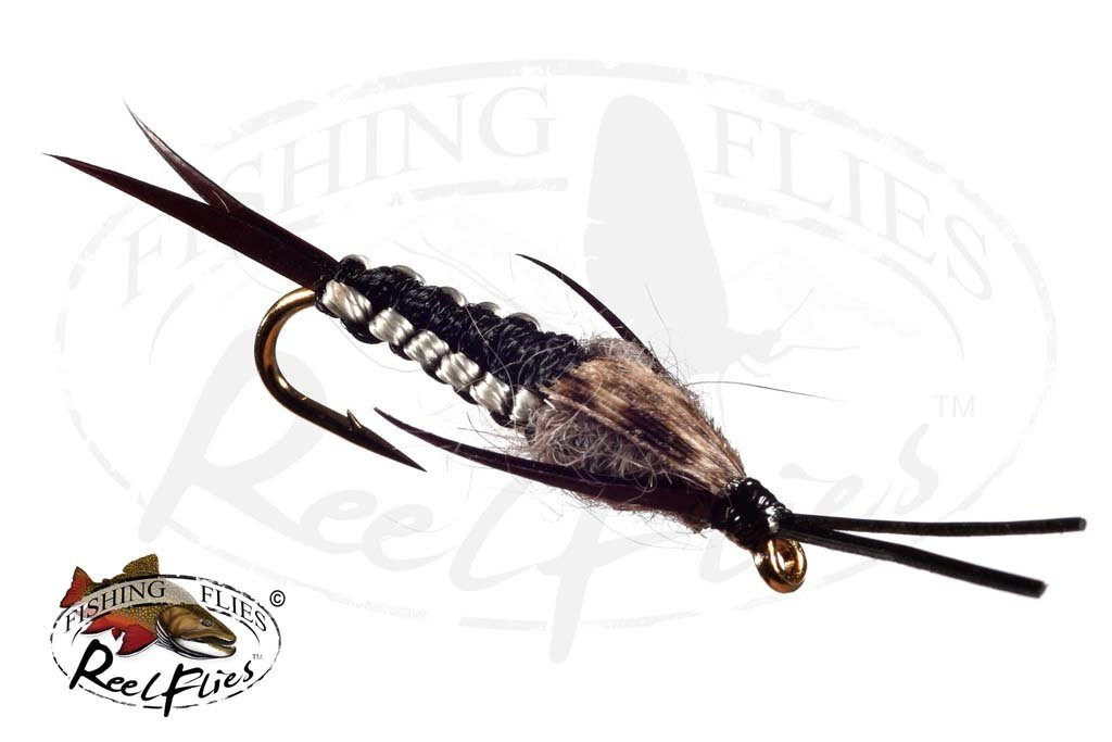Black Natural Woven Stonefly