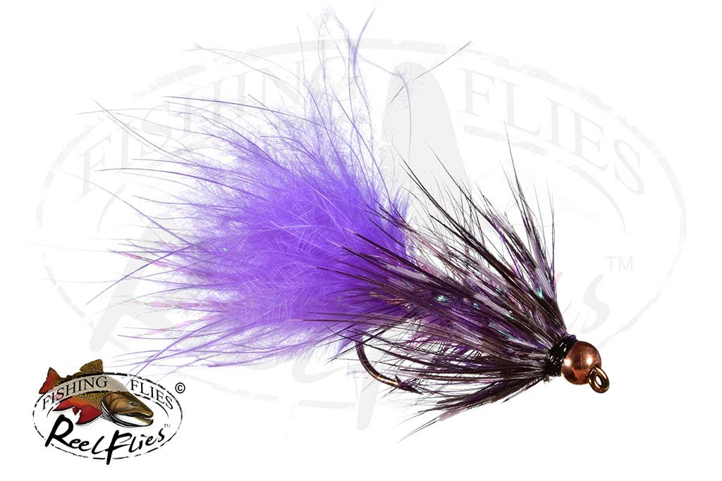 BH Purple Grizzly Woolly BuggerBH Purple Grizzly Woolly Bugger