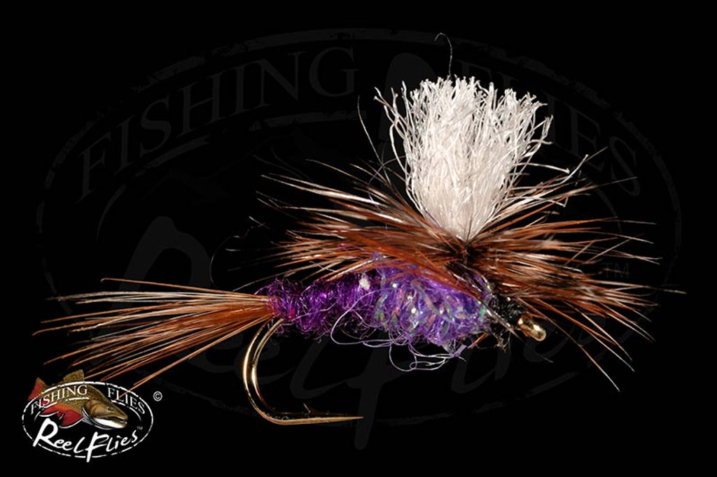 Purple Haze Parachute Dry Fly